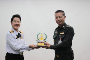 ยินดีต้อนรับคณะผู้บริหารระดับต้น กรมแพทย์ทหารเรือ เยี่ยมชมกิจการของโรงพยาบาล